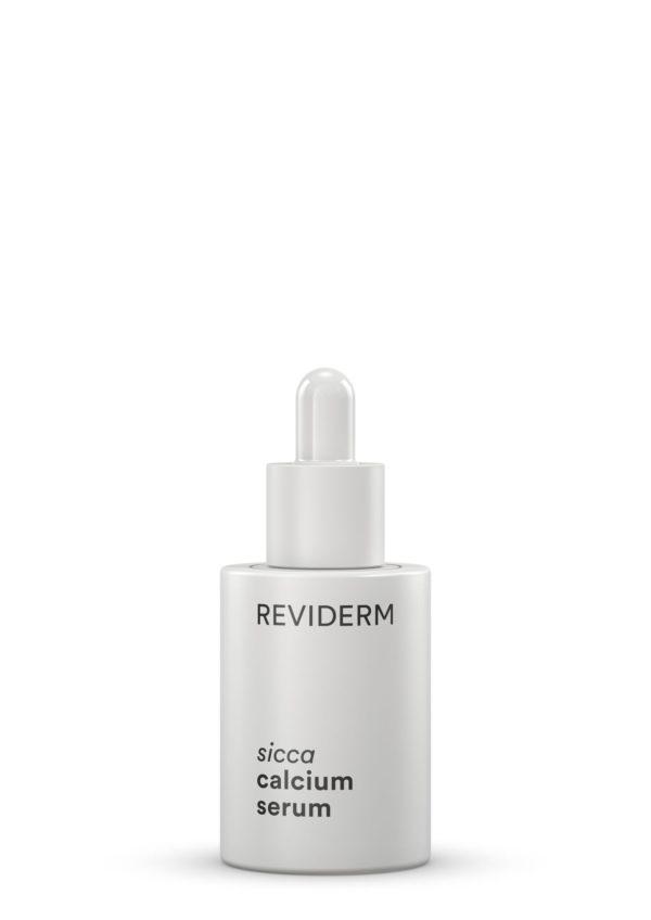 50011 Sicca Calcium serum bij een vette, pukkelige vochtarme huid helpt
