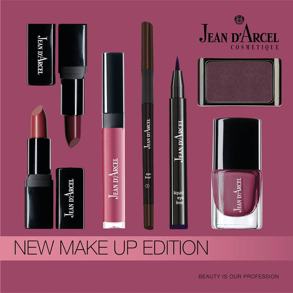 Jean d'Arcel new make-up