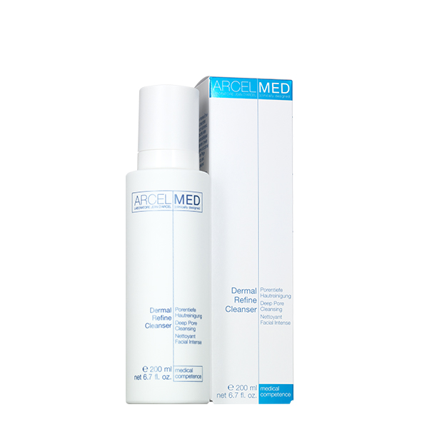 2021 - Dermal refine cleanser ArcelMed Blue