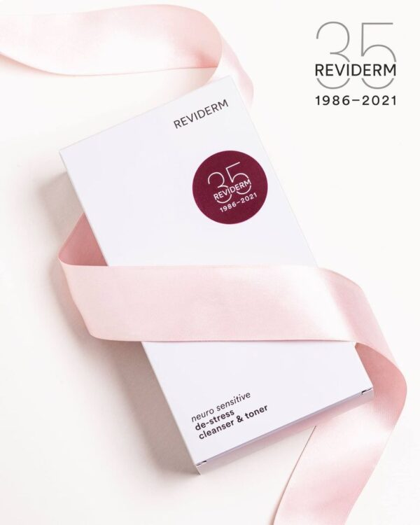 Reviderm Neuro Sensitive De-stress reinigingsset - Jubileum aanbieding